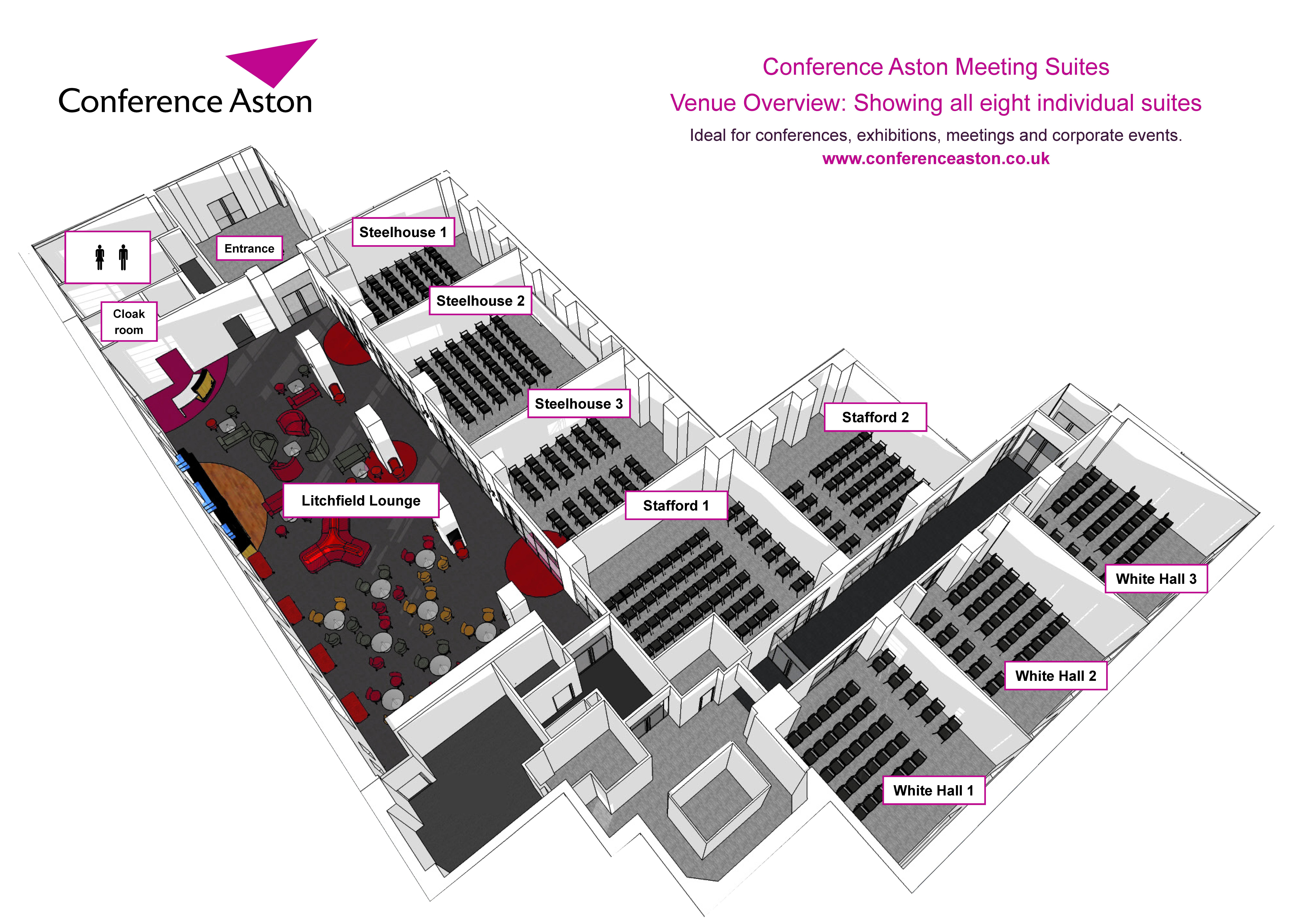 Conference aston wedding