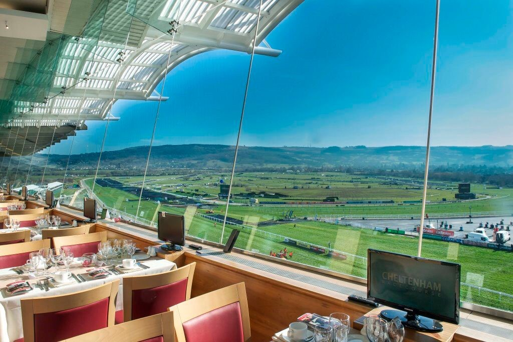 Picture ofCheltenham Racecourse And The Centaur