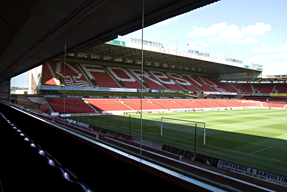 Conference venue details nottingham forest football club west